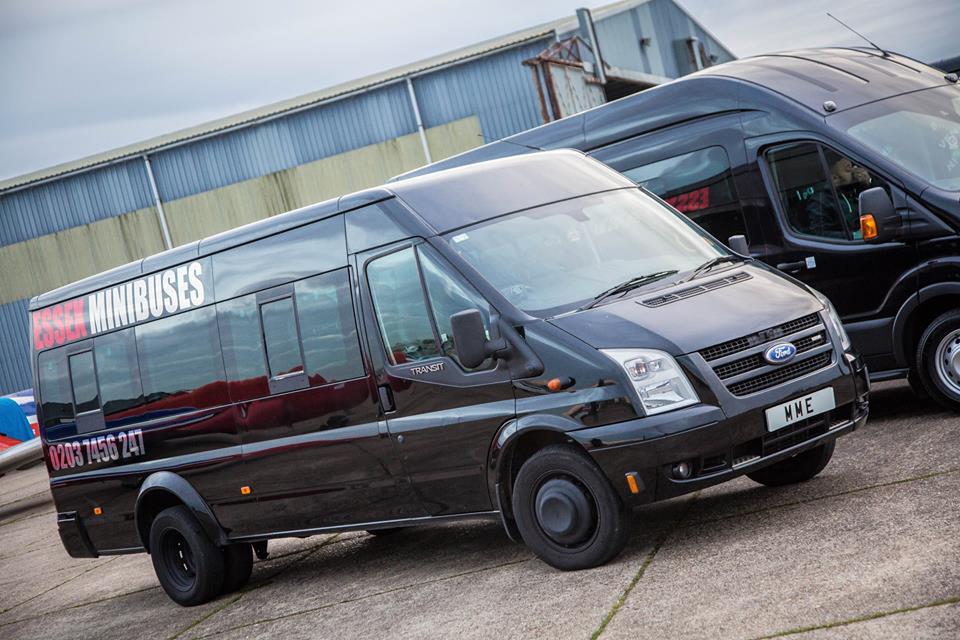 minibus hire chelmsford